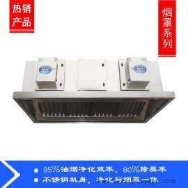 烟罩式油烟净化器价格 油烟净化机