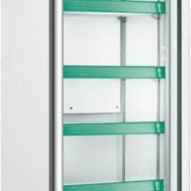 万宝牌铝合门框单门350L冷藏展示柜,超市便利店首选