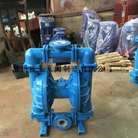 QBY衬氟气动隔膜泵,化工气动隔膜泵,耐腐蚀气动隔膜泵
