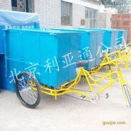 脚蹬三轮车环卫垃圾车手推车人力车保洁车环卫设施垃圾桶厂家直销