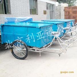 定做人力三轮大垃圾车,人力大三轮垃圾车、三轮保洁车