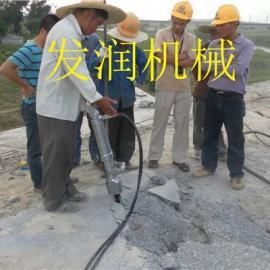 湖南郴州露天岩石矿山开采大型开山机