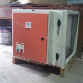 卷烟厂废气净化处理设备 离子光解净化器 烟厂除臭设备选万纯