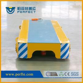 黑龙江1-3t小吨位模具搬运无轨胶轮平板拖车