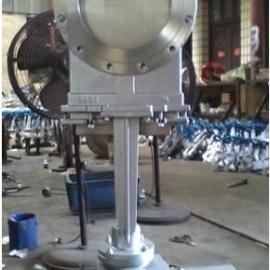 PZ973H-10C电动对夹刀型闸阀