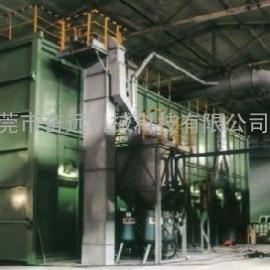 气力回收喷砂房广东奋远机械喷砂房制作有限公司厂家直销