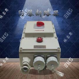 BQD58防爆电磁起动器带可逆订做