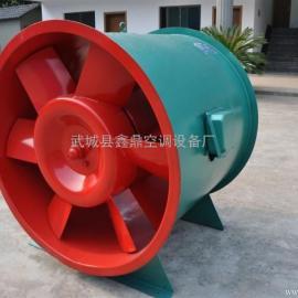 低噪声混流式高温排烟风机