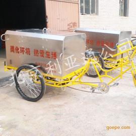 人力三轮垃圾车,保洁车,不锈钢三轮垃圾车北京厂家直销