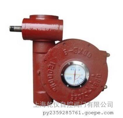 QDX3-4电动阀门蜗轮减速箱/涡轮执行器