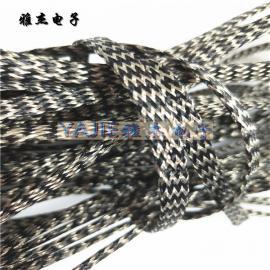 PET加镀锡铜编织网管 屏蔽编织电线套管