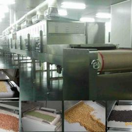 小麦胚芽低温烘焙熟化设备 五谷杂粮微波干燥杀虫灭菌设备价格