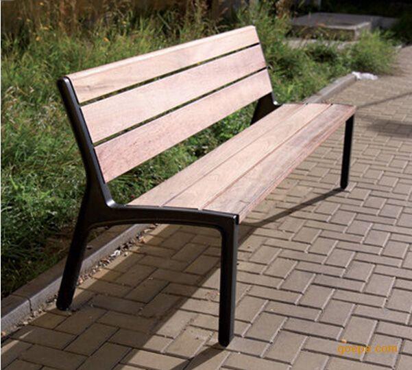北京公园铸铁座椅厂家广场座椅广场椅子公园长条椅小区休闲座椅图片