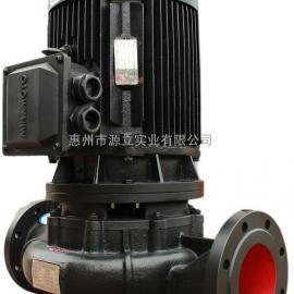 台湾源立GDX350-20-55KW管道泵增压泵消防给水泵