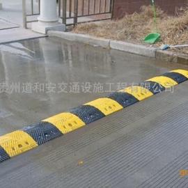 现货供应橡胶减速带 铸钢减速带 道路减速带--贵州道和安交通设