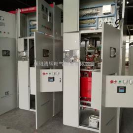独家订制高压固态软启动柜和开关柜一体化的软起动装置正在调试