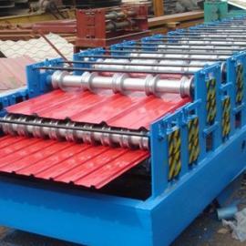 渤海840/900双层彩钢压瓦机涟漪均匀,运用率高,强度大
