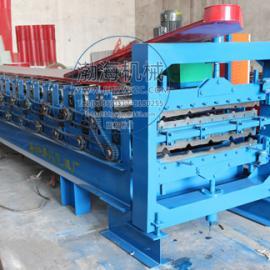 渤海860/900双层彩钢压瓦机涟漪均匀,运用率高,强度大