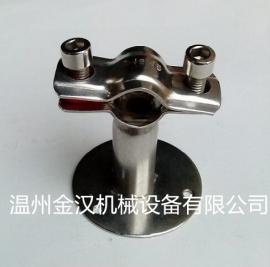 管支架不锈钢管固定夹管夹支架 卡箍托架管卡管子固定架夹