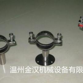 卫生级管支架 不锈钢管支架 不锈钢管夹 不锈钢管卡