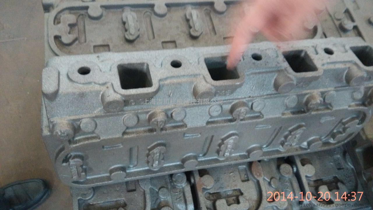 发动机缸体缸盖的内腔铸造清理设备吉川喷丸机