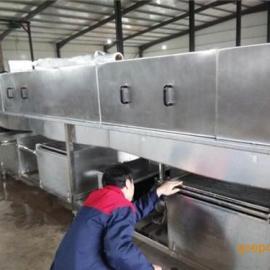 肉筐自动清洗机不锈钢、诸城盛世铭翔(图)、肉筐自动清洗机视频