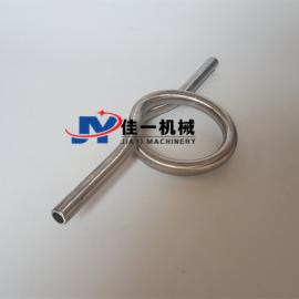 不锈钢冷凝管 180度压力表缓冲管 90度压力表弯管