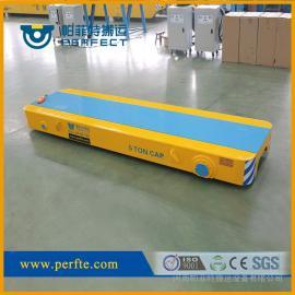 10吨低压轨道电动平板车 车间运货平车