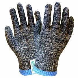 B078迷彩钢丝防割手套
