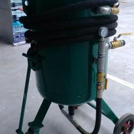 长春货车喷砂专用喷砂罐喷砂机