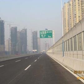 上海声屏障施工上海别墅声屏障板上海高速公路隔音墙