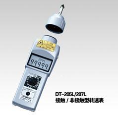 DT-207LR接触/非接触式转速表--日本新宝