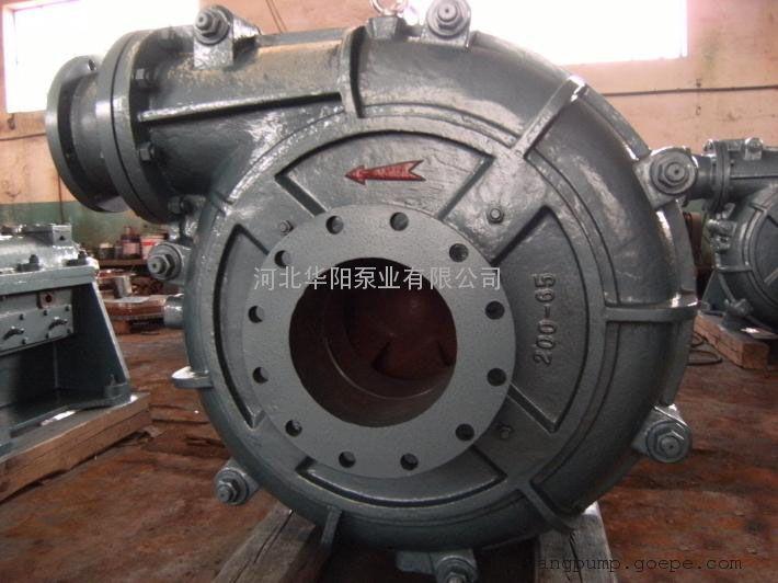 渣浆泵的结构特征