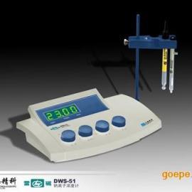 上海仪电科学雷磁DWS-51型实验室台式数显钠离子浓度计