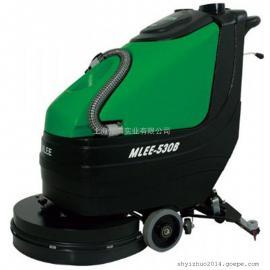 爱姆乐手推式电动洗地机 移动式工业用洗地机 保洁用洗地机