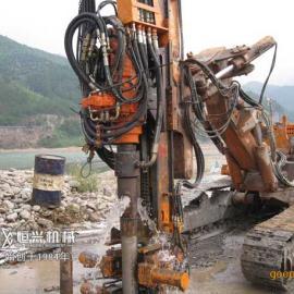 南阳小型全液压钻机恒兴凿岩钻机质量行业领先