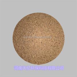 内蒙古10-12目果壳滤料、制革行业用核桃壳滤料