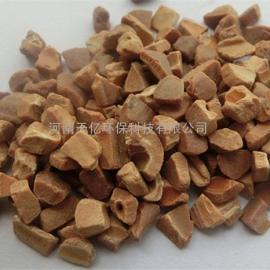 汉中市果壳滤料生产厂家,冶炼用核桃壳磨料