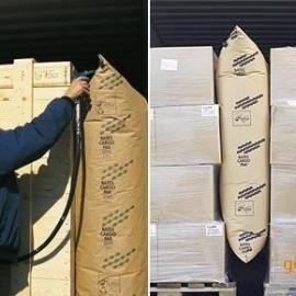 深圳厂家直销货柜集装箱缓充充气袋 货柜填充袋 缝隙填充