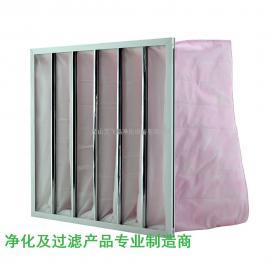 F8级中效袋式过滤器过滤网 无纺布F7F9中央空调空气过滤器厂家