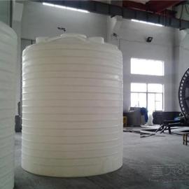8吨立式塑料水箱 耐酸碱储罐 聚乙烯水塔生产厂家