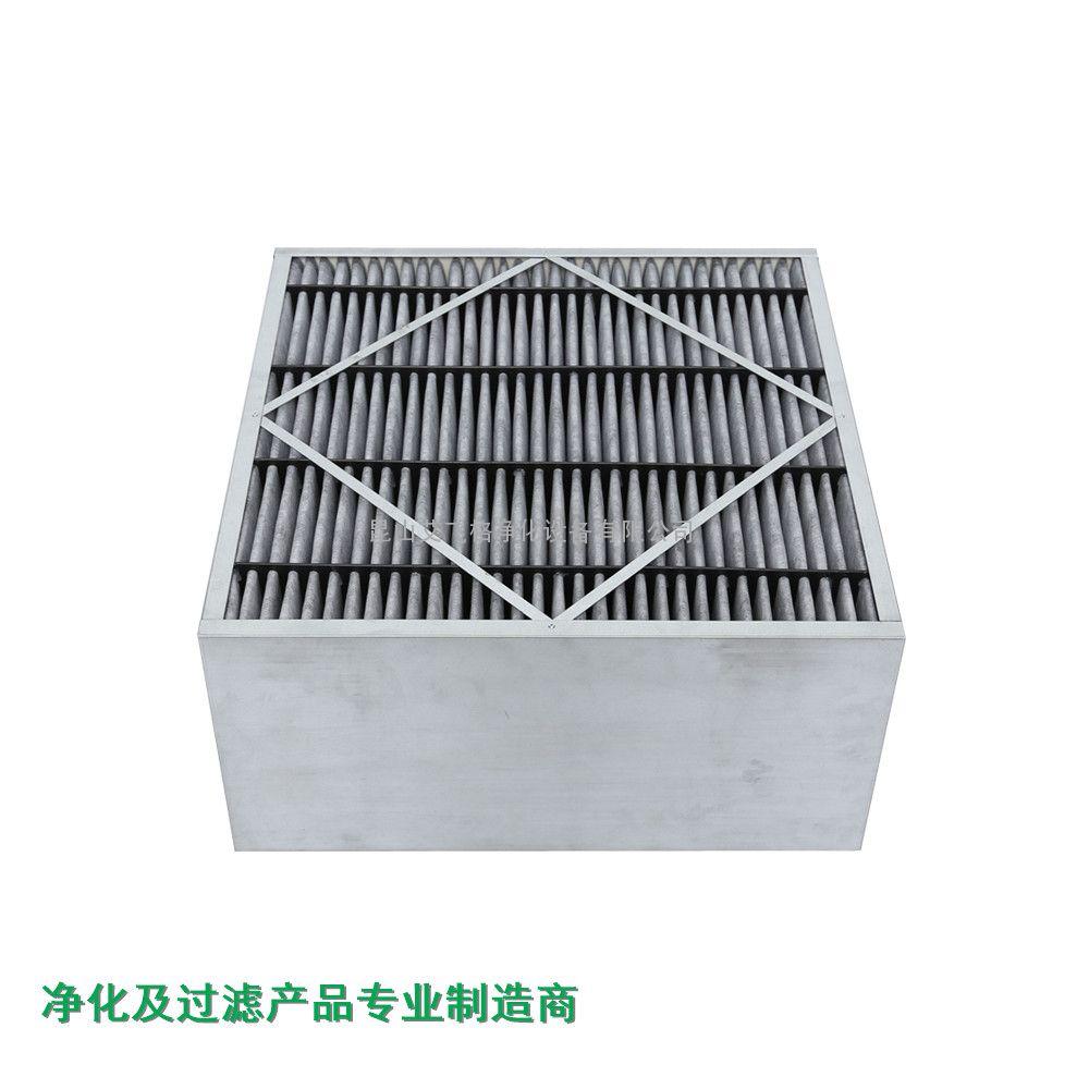 厂家供应工业]初效板框式活性炭空气过滤器