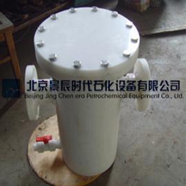 FRPP篮式过滤器厂家 常温常压泵用PP管道过滤器DN50