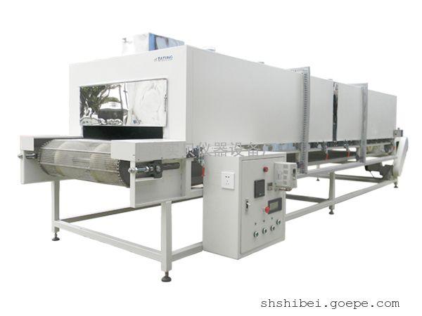远红外隧道式烘箱_定制工业流水线生产隧道式烤箱