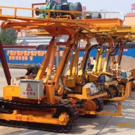 通山机械22kw护坡履带钻车扩孔速度快
