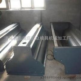 汇众模具 隔离墩钢模具 异型隔离墩钢模具