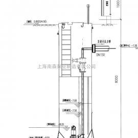 玻璃钢筒体预制泵站 移动通信自动泵站