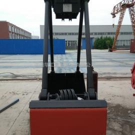 亚重DZ12自动抓取物料4倍滑轮倍率抓取料重1t轻型电动单轨抓斗