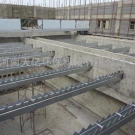 吴忠堰板不锈钢集水槽厂家、斜管沉淀池集水槽