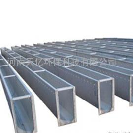 内蒙古齿形不锈钢集水槽厂家、50×100不锈钢集水槽